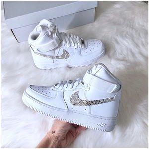 ⚡️Custom Bling Nike Air Force 1 High⚡️